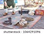 marrakesh  morocco  africa  ... | Shutterstock . vector #1064291096