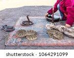 marrakesh  morocco  africa  ... | Shutterstock . vector #1064291099