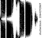 grunge halftone black and white ... | Shutterstock . vector #1064292869