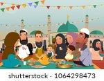 a vector illustration of... | Shutterstock .eps vector #1064298473