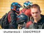 ulyanovsk  russia   april 30 ... | Shutterstock . vector #1064299019