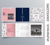 brochure design  brochure... | Shutterstock .eps vector #1064312390