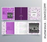 brochure design  brochure... | Shutterstock .eps vector #1064312399