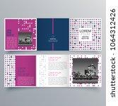 brochure design  brochure... | Shutterstock .eps vector #1064312426