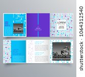 brochure design  brochure... | Shutterstock .eps vector #1064312540