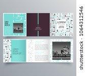 brochure design  brochure... | Shutterstock .eps vector #1064312546