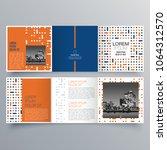 brochure design  brochure... | Shutterstock .eps vector #1064312570