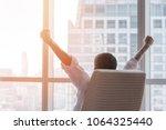 business achievement concept...   Shutterstock . vector #1064325440