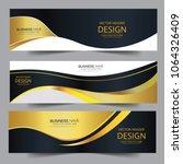 abstract banner gold web header ... | Shutterstock .eps vector #1064326409