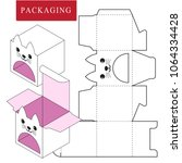 vector illustration of box... | Shutterstock .eps vector #1064334428