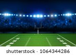 american football arena field... | Shutterstock .eps vector #1064344286