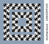visual paradox optical illusion.... | Shutterstock .eps vector #1064349143