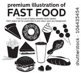 premium illustration of fast... | Shutterstock .eps vector #106435454