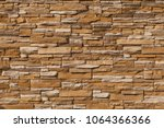 Stone Wall Of Natural Stones In ...