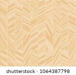 parquet seamless texture. a... | Shutterstock .eps vector #1064387798