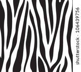Animal Print  Zebra Texture...