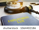 employment law in a court.... | Shutterstock . vector #1064402186