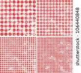 polka dot grunge pattern | Shutterstock .eps vector #106440848