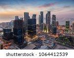 The Skyline Of The City Center...