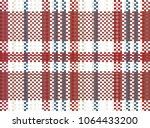 hong kong 60s  70s red white... | Shutterstock .eps vector #1064433200