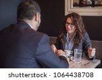 female leadership business...   Shutterstock . vector #1064438708