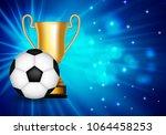 winner congratulations...   Shutterstock .eps vector #1064458253