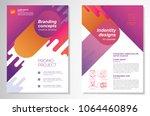 template vector design for... | Shutterstock .eps vector #1064460896