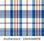 hong kong 60s  70s red white... | Shutterstock .eps vector #1064468858