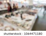 defocused of fish in... | Shutterstock . vector #1064471180
