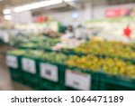 defocused of vegetables and... | Shutterstock . vector #1064471189