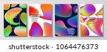 vector illustration of bright... | Shutterstock .eps vector #1064476373