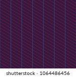 isometric grid. vector seamless ... | Shutterstock .eps vector #1064486456