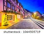 colmar  alsace  france.... | Shutterstock . vector #1064505719