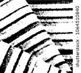 black and white grunge stripe... | Shutterstock .eps vector #1064510840