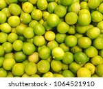 green lemon is usually used to... | Shutterstock . vector #1064521910