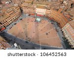 Aerial View Of The Piazza Del...