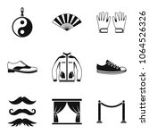vogue icons set. simple set of... | Shutterstock .eps vector #1064526326