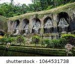 gunung kawi bali   the oldest...   Shutterstock . vector #1064531738