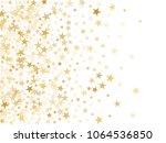 gold star dust sparkle vector... | Shutterstock .eps vector #1064536850