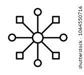 multi channel icon  vector... | Shutterstock .eps vector #1064550716