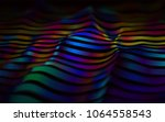 abstract vector background with ... | Shutterstock .eps vector #1064558543