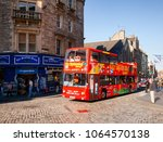 edinburgh  uk   aug 8  2012 ... | Shutterstock . vector #1064570138