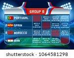 russia world cup 2018 football. ... | Shutterstock .eps vector #1064581298