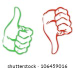 image representing two hands... | Shutterstock .eps vector #106459016