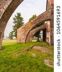 staffarda  piedmont  italy  ... | Shutterstock . vector #1064591693