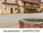 staffarda  piedmont  italy  ... | Shutterstock . vector #1064591720