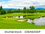 Golf Course With Gorgeous Gree...