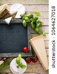 italian cooking. fresh...   Shutterstock . vector #1064627018