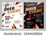 vector layout design template... | Shutterstock .eps vector #1064638826