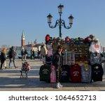 venice  italy   march 26  2018  ... | Shutterstock . vector #1064652713